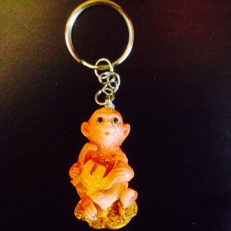 Beždžionė raktų pakabutis
