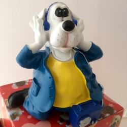 Šuo taupyklė DJ