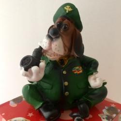 Šuo taupyklė Kareivis