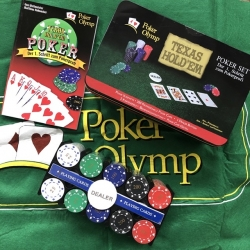 Pokerio žetonų rinkinys