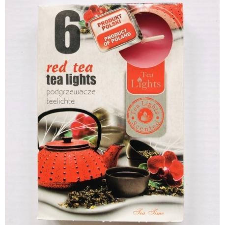Aromatizuota žvakė Raudonoji arbata, 6vnt.