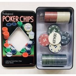 Pokerio žetonų rinkinys M