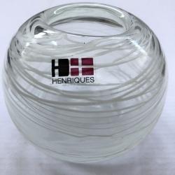 Stiklo vazelė Siūlai
