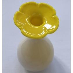 Stiklo vaza Gėlė