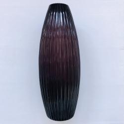 Vaza stiklo Violetinė M