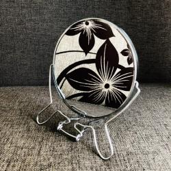 """Pastatomas metalinis veidrodis 6"""""""