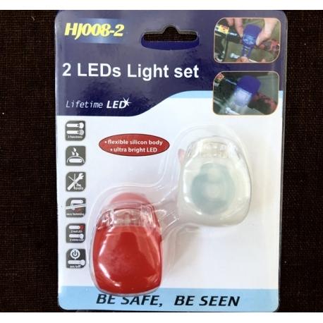 Dviračio lemputės LED