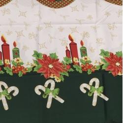 Staltiesė Kalėdinė M Balta