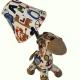 Vaikiškas miegamojo šviestuvas Žirafa