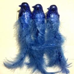 Paukštis Mėlynas, 3vnt.