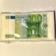 Servetėlės Pinigai 100€