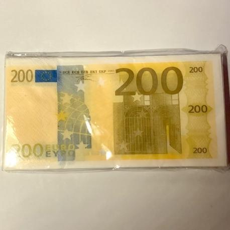 Servetėlės Pinigai 200€