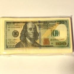 Servetėlės Pinigai 100$