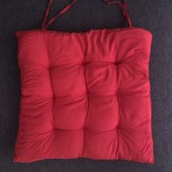 Pagalvėlė kėdei Raudona