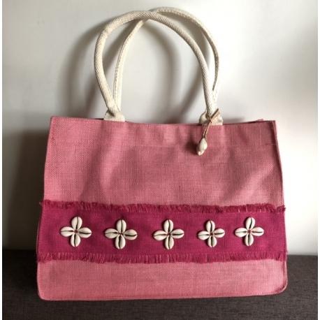 Paplūdimio krepšys Rožinis