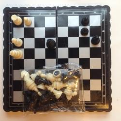 Mini magnetiniai šachmatai